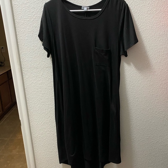 Carly Pocket T-shirt Dress Size 3X